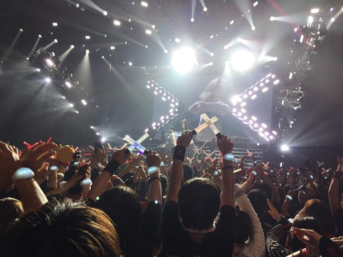 XJAPAN ジャパンツアー2015 in 名古屋 ツアー最終日