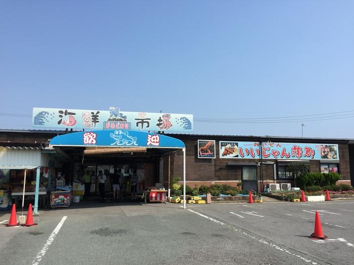 蒲郡海鮮市場