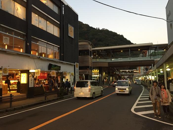 箱根旅行 箱根湯本駅 紅葉 観光 箱根パークス吉野 旅館