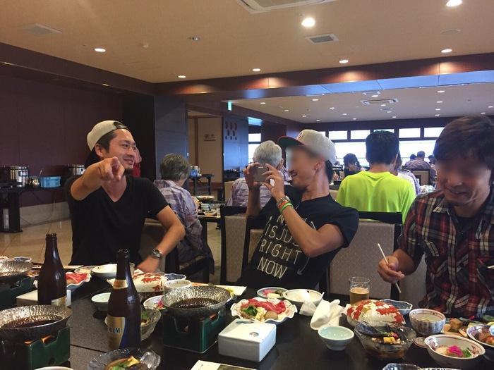 琵琶湖 旅行 男旅 観光 映画 ロケ地 ちはやふる 琵琶湖グランドホテル 夜ご飯 近江牛 すき焼き