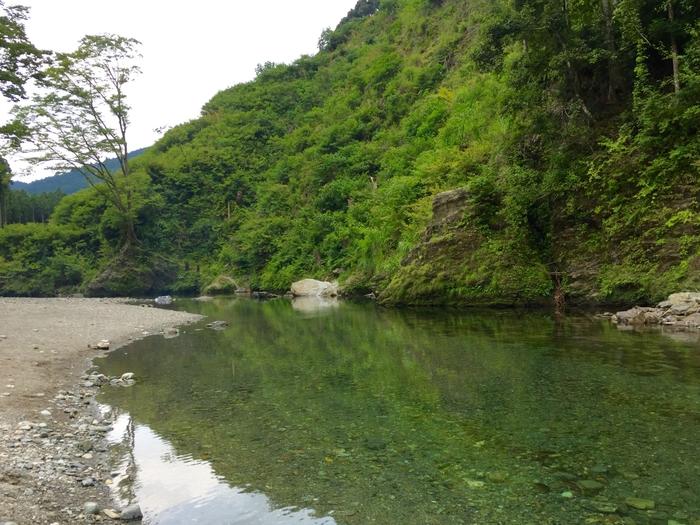 浜松市 川遊び あたご川