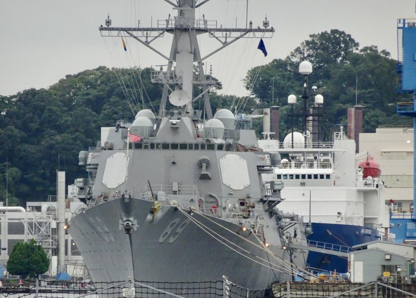 YOKOSUKA 軍港めぐり 横須賀 軍艦