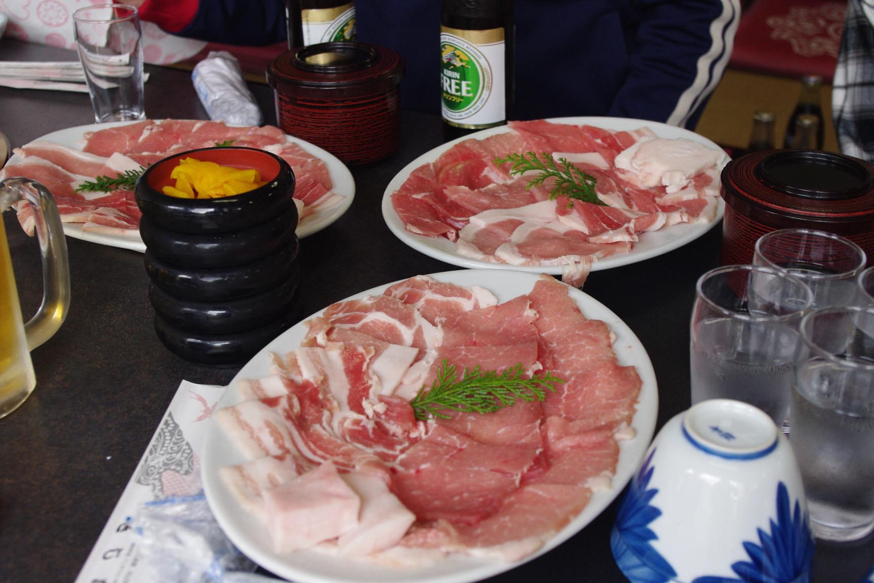 きじ亭 きじ肉 ジンギスカン 食べ放題