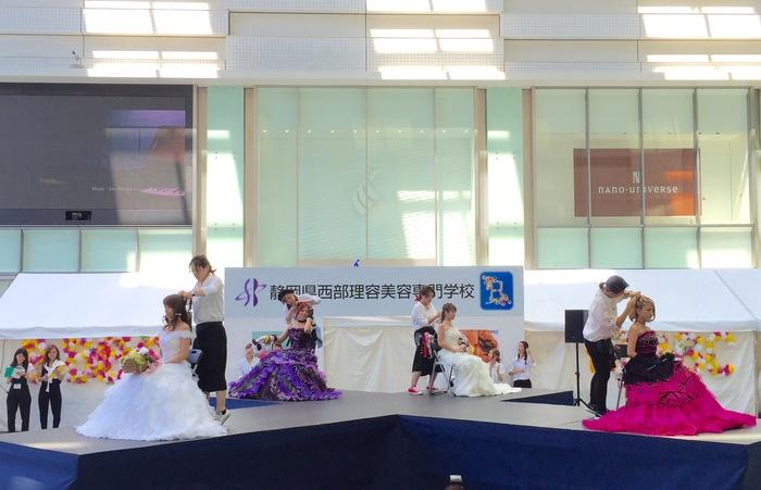 静岡県西部理容美容専門学校 SBBC B祭 文化祭