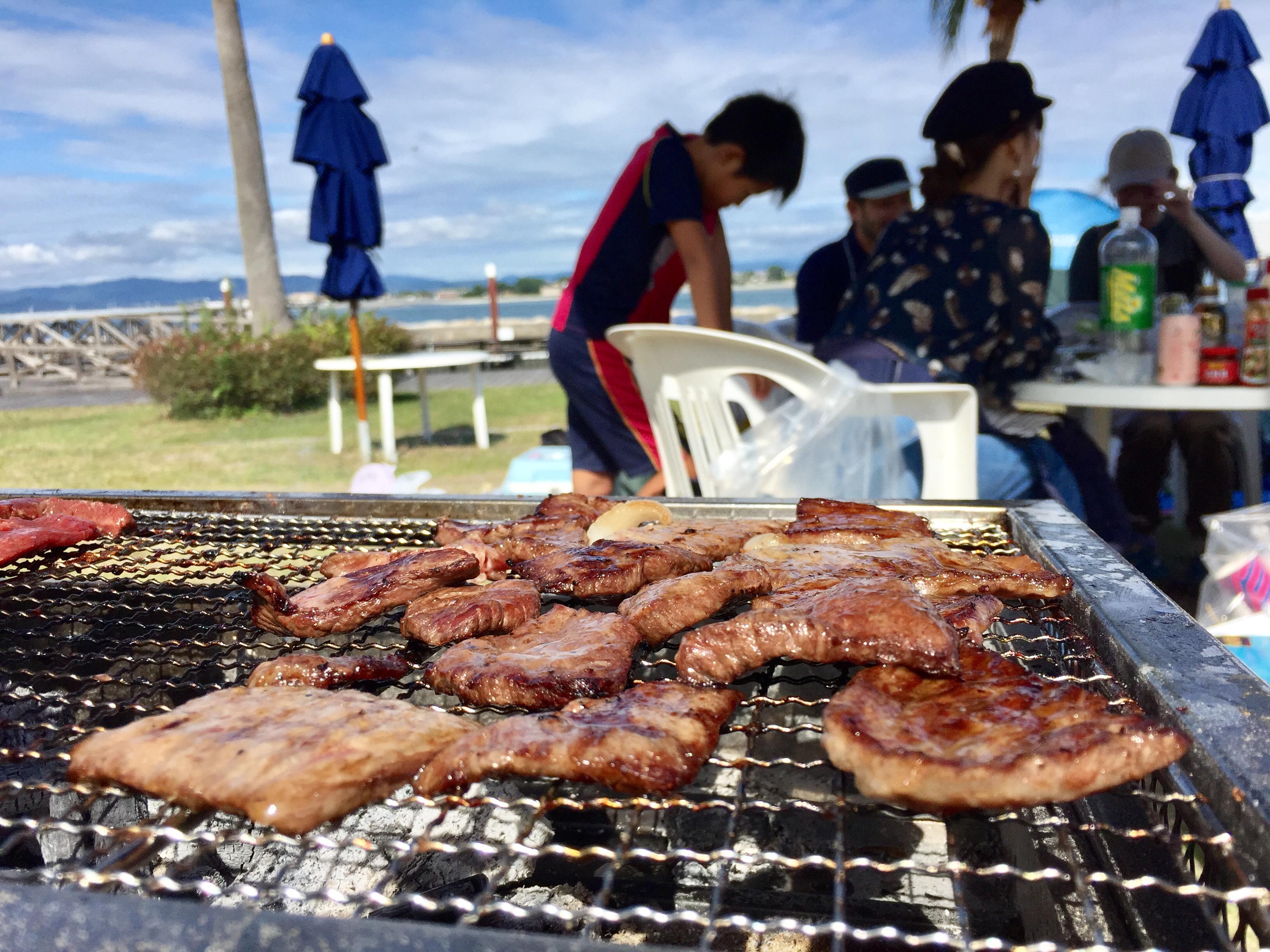 浜名湖 海湖館 BBQ