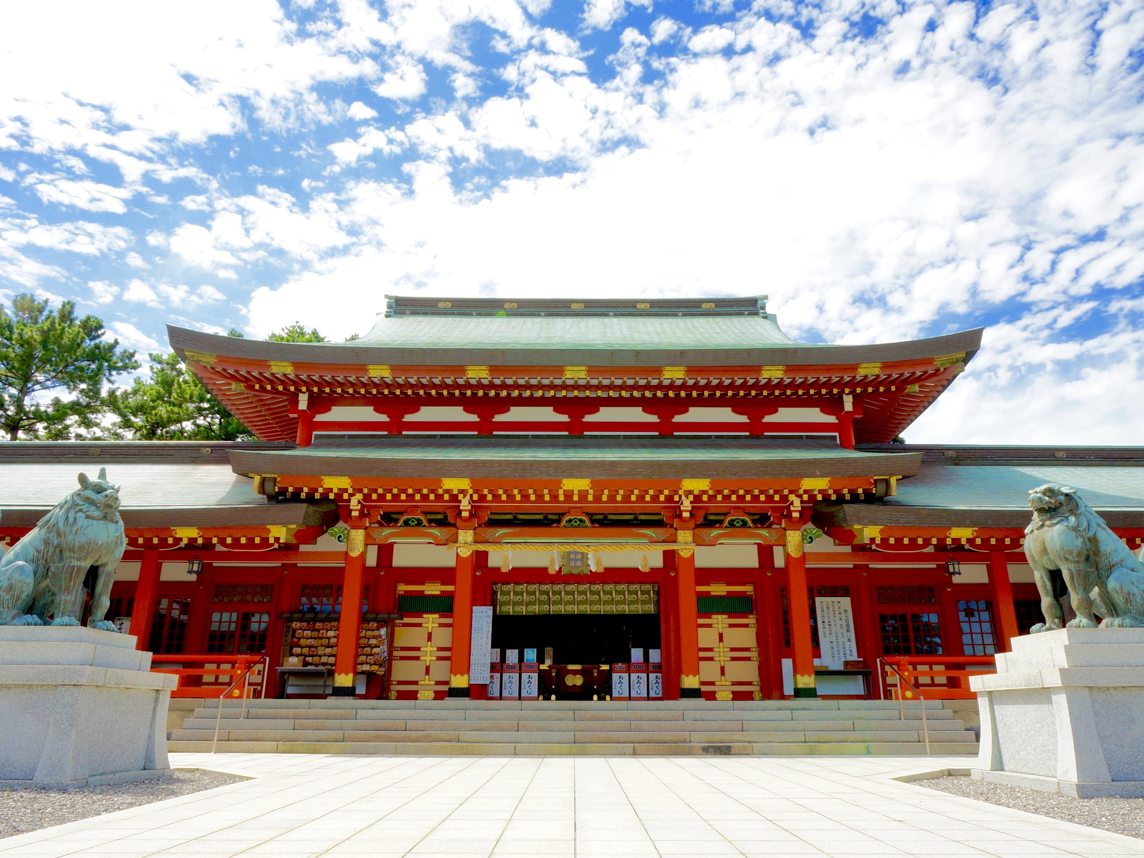 浜松 五社神社 諏訪神社