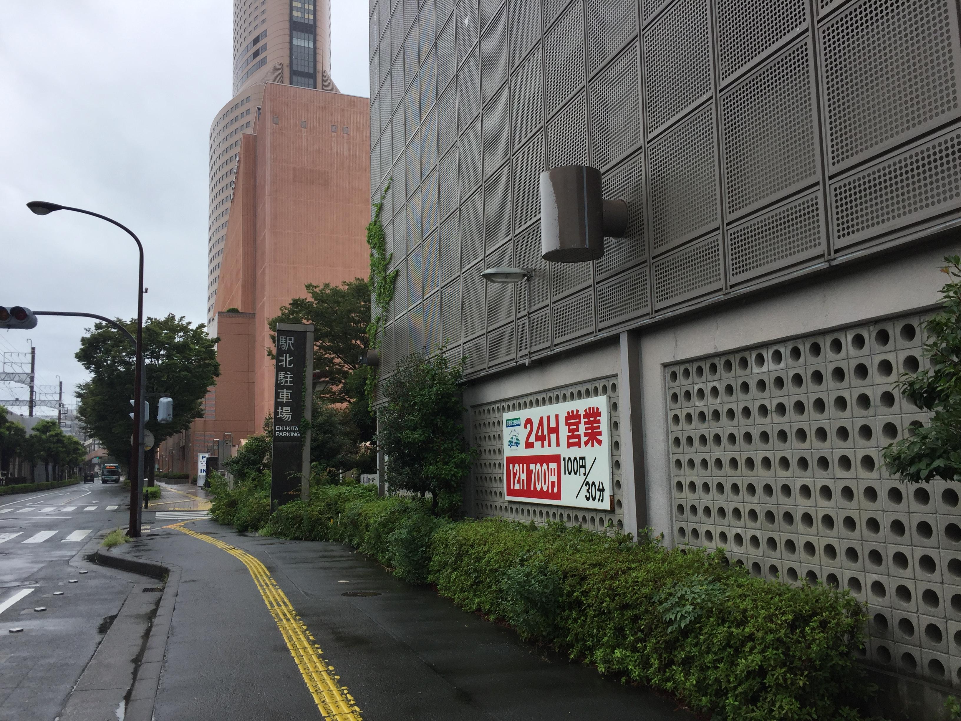 浜松科学館 駐車場
