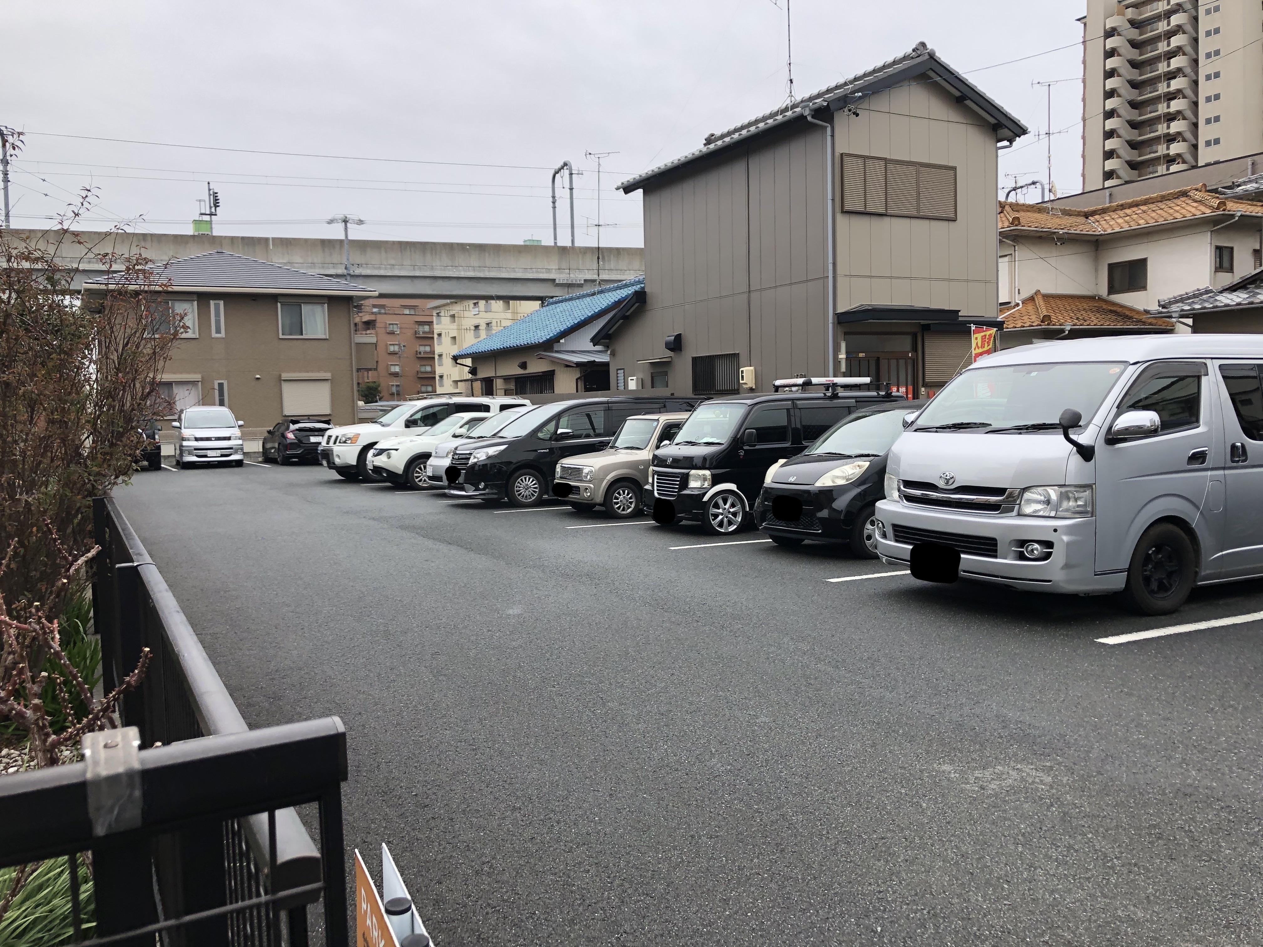 浜松 らーめん 豚鬼 駐車場