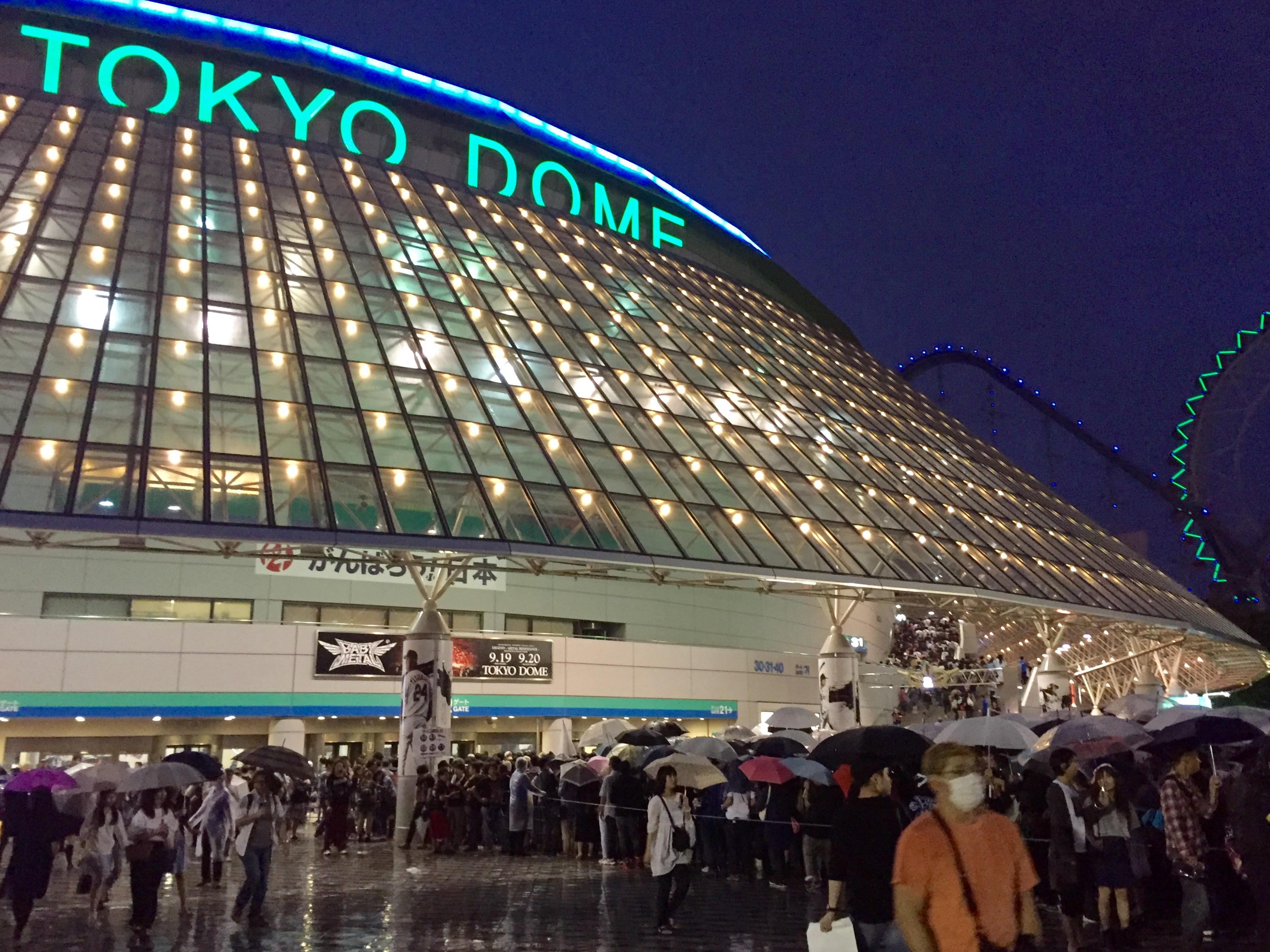 BABYMETAL ベビーメタル WORLDTOUR2016FINAL 東京ドーム 1日目