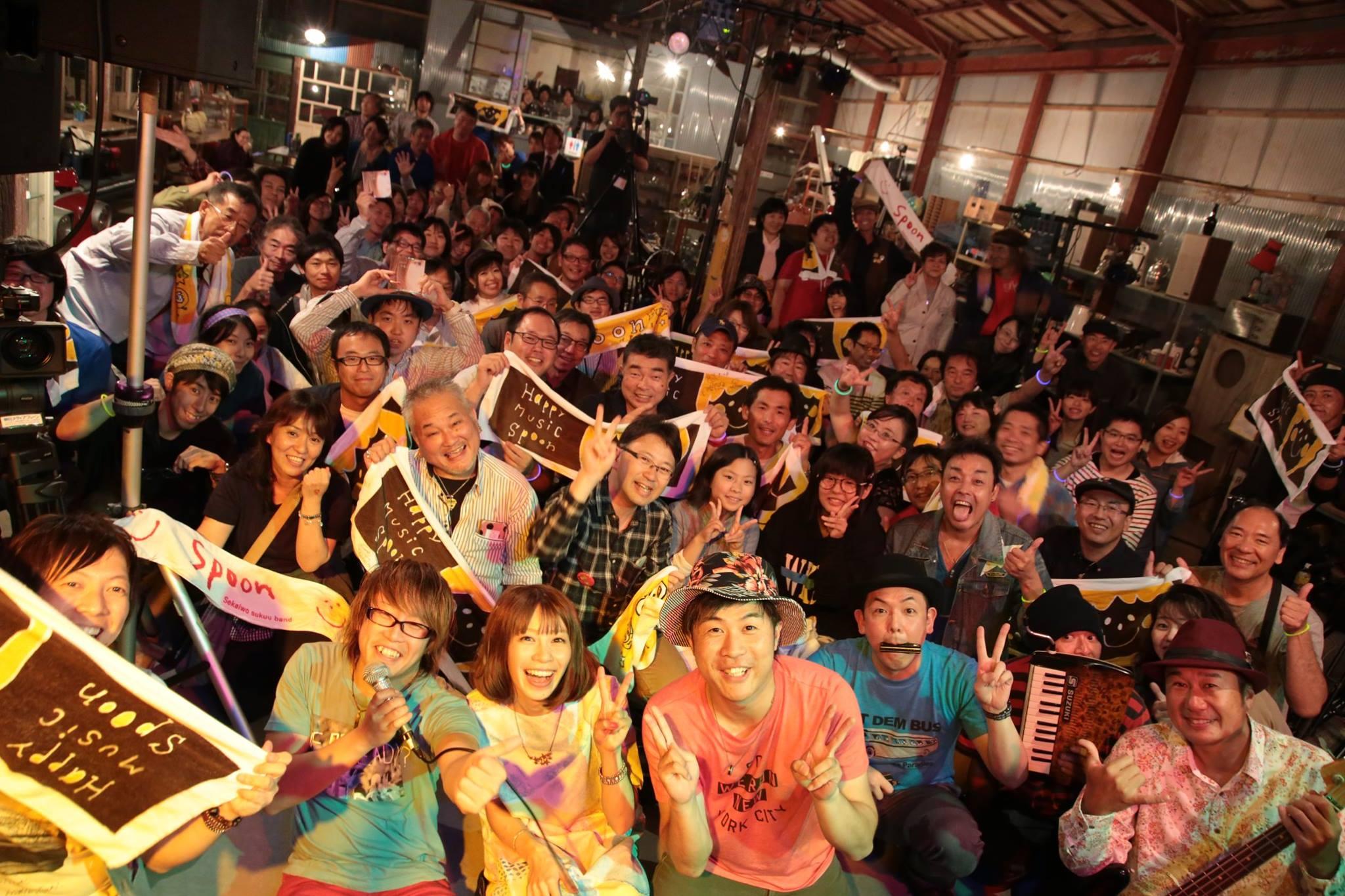 Spoon Lan Lan Lalalive2016~ワンダーランドな夜~in掛川アンティークカフェROAD