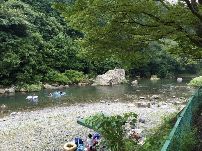 浜松 滝沢キャンプ場