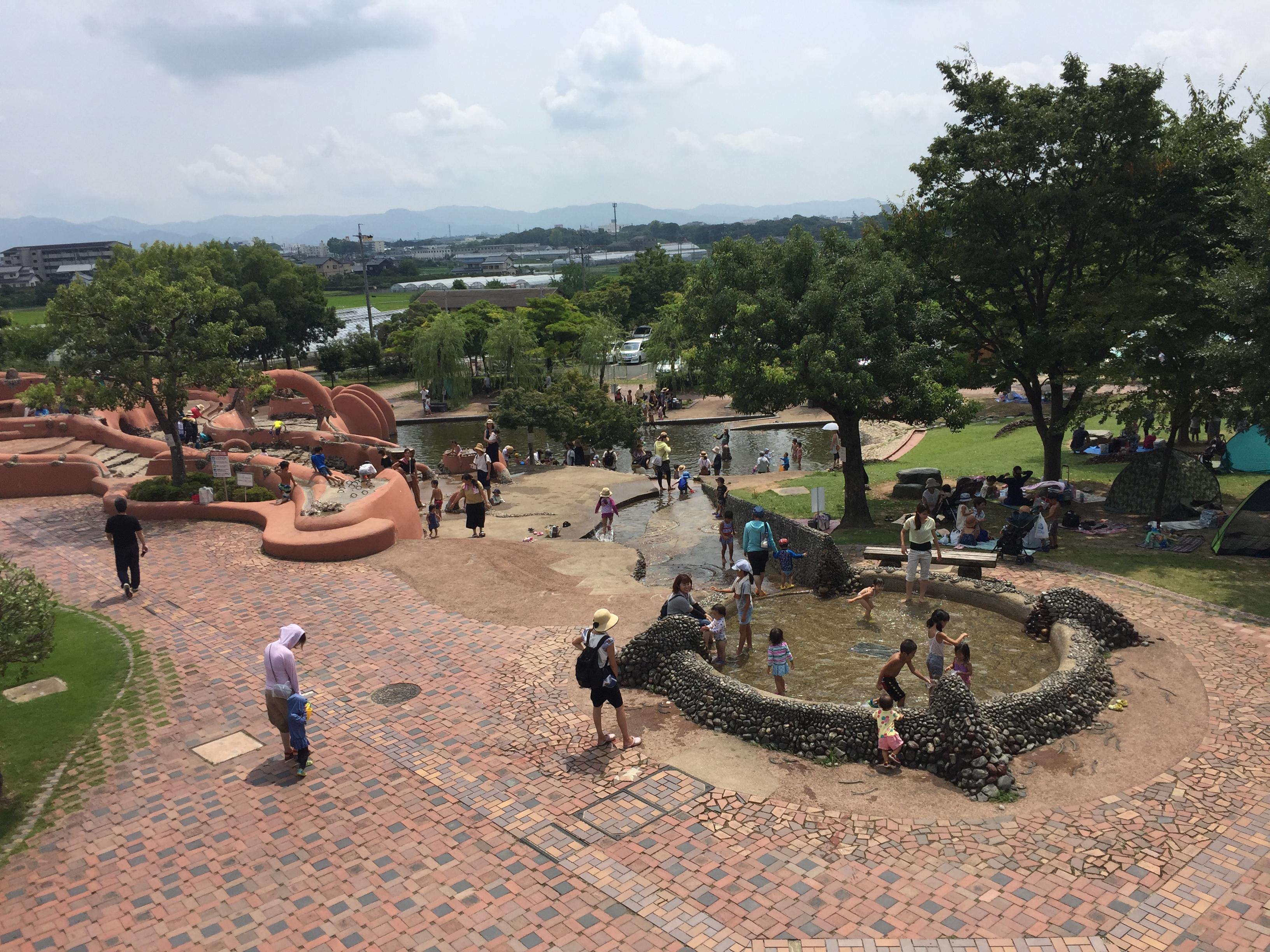 豊川市 赤塚山公園 ぎょぎょランド アニアニまある