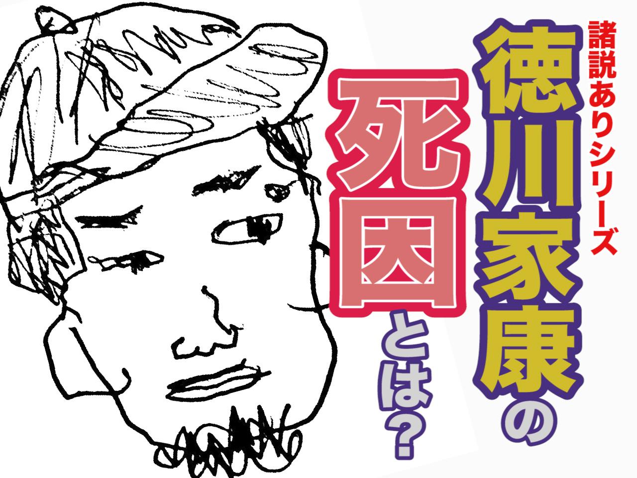 徳川家康 死因 伝説 諸説あり