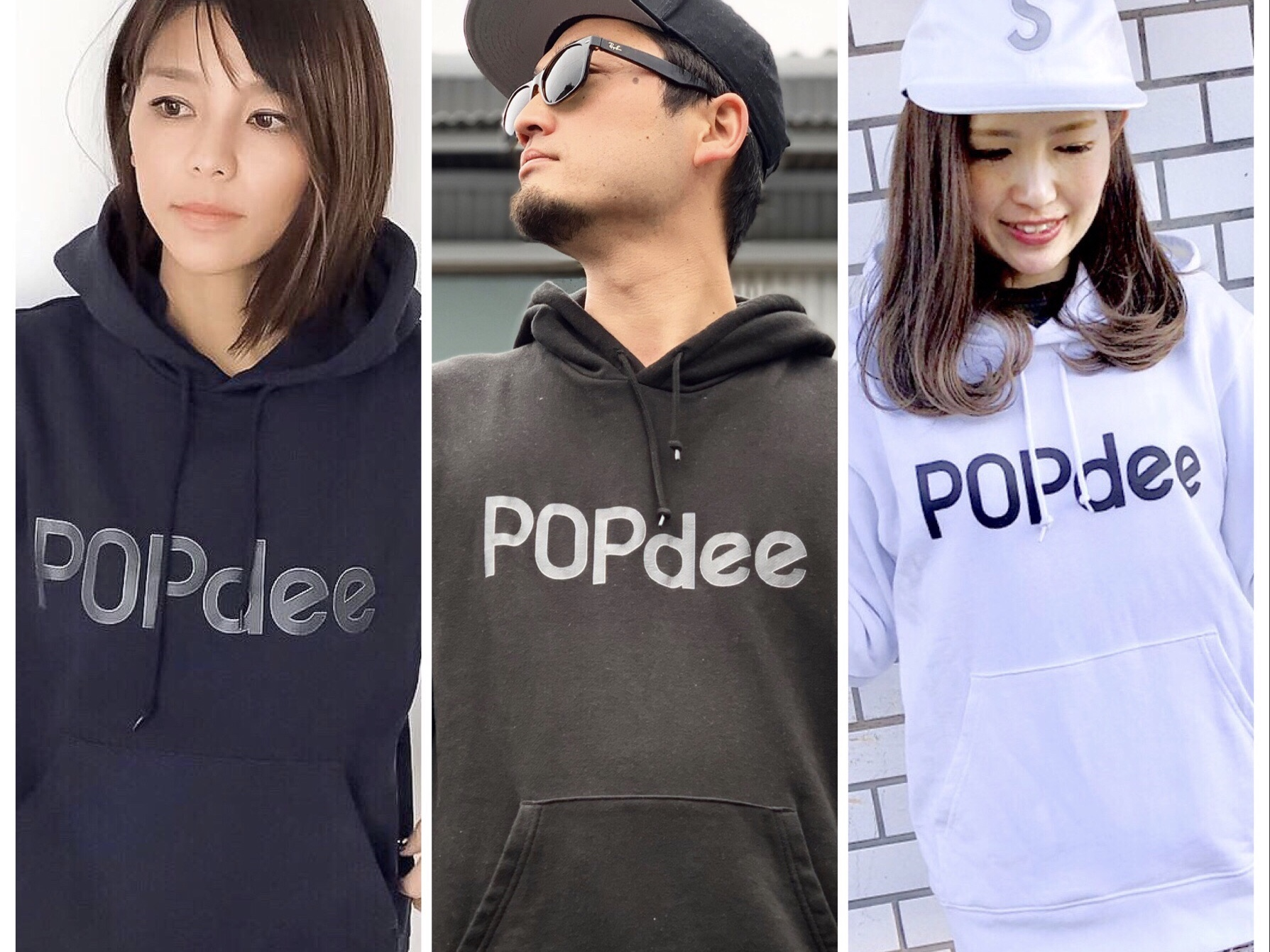 POPdee goods ポプディー パーカー