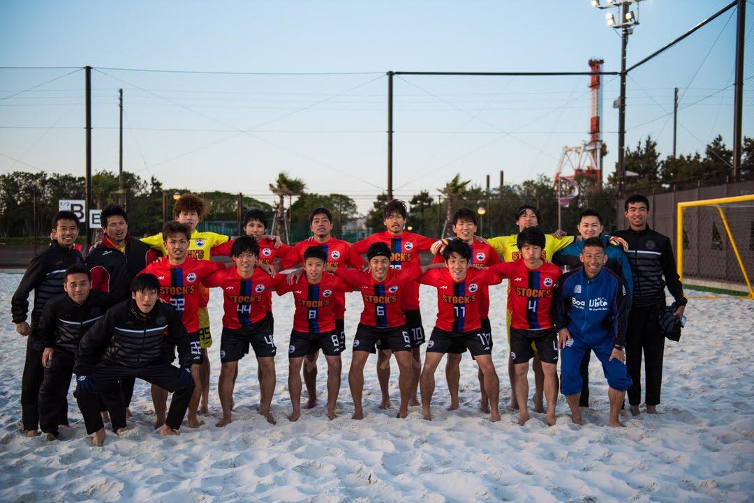 ビーチサッカー トリコアレイア 浜松 静岡